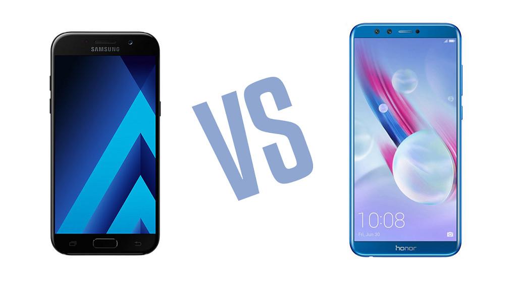 Сравнение Samsung Galaxy A5 (2017) и Honor 9 Lite.