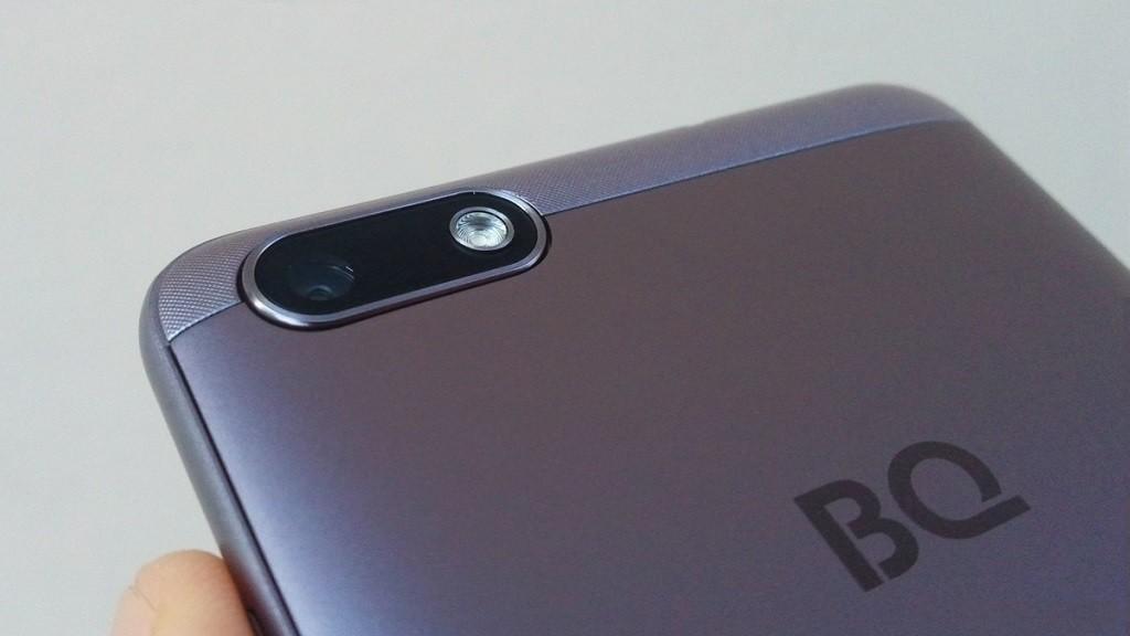 Бюджетный смартфон в алюминиевом корпусе от отечественного производителя.