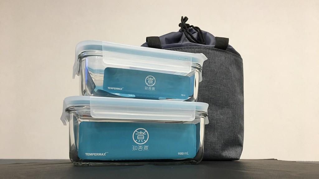 Стеклянный контейнер для еды Glass Food Storage Containe