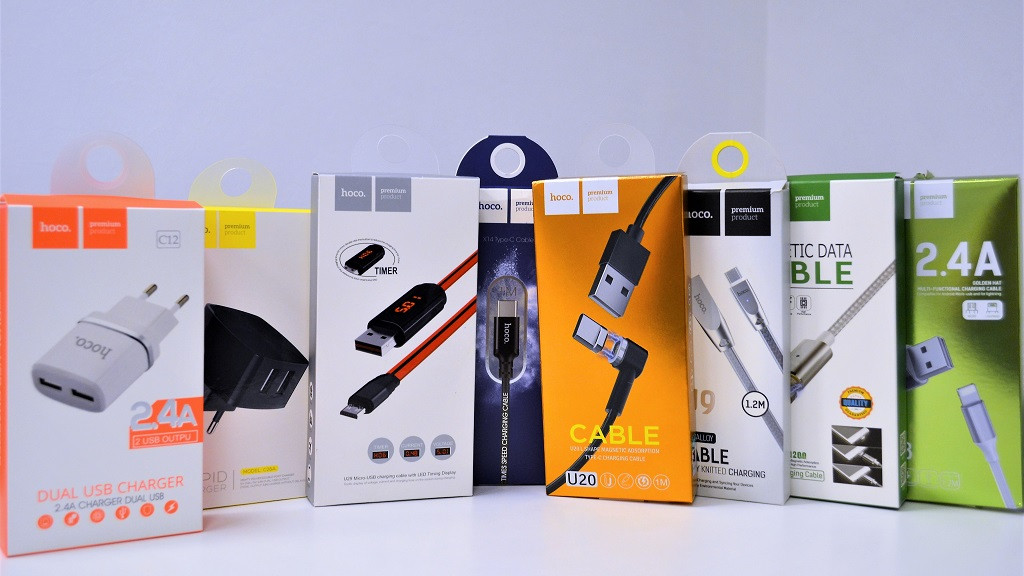 Большое поступление зарядных устройств HOCO для смартфонов и гаджетов в Ми-Уфа