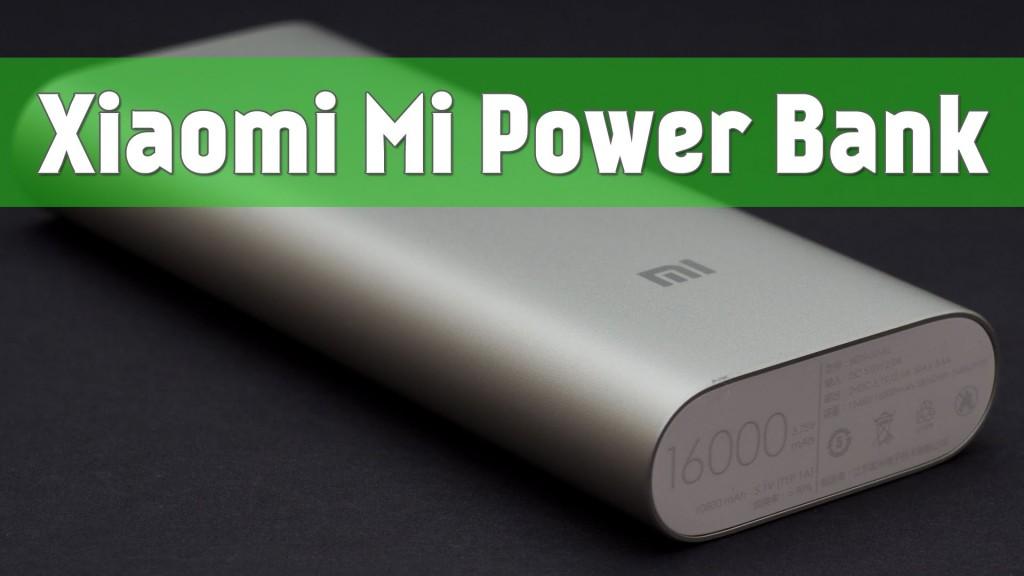 Выбираете портативный аккумулятор ? Xiaomi Mi Power Bank станет отличным выбором!