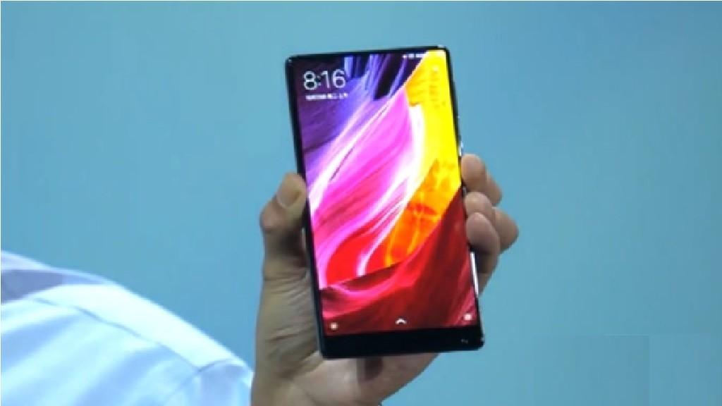 Mi MIX - телефон с экраном без рамки который был представлен вместе с Mi Note 2.