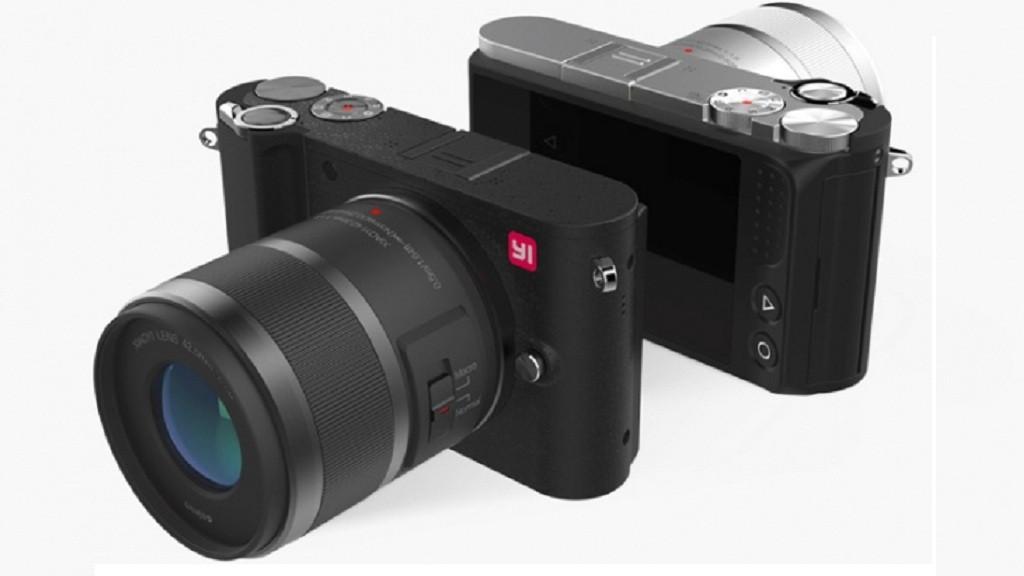 Компания Mi представила новую камеру Yi M1